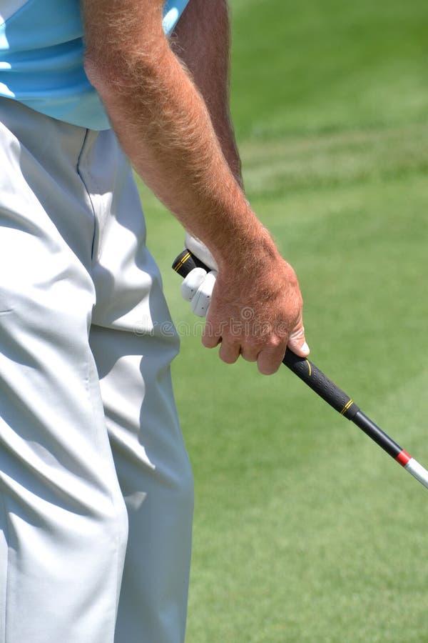 Adhérence de golf images stock