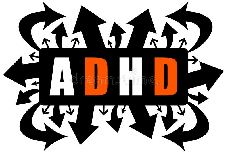 ADHD libre illustration