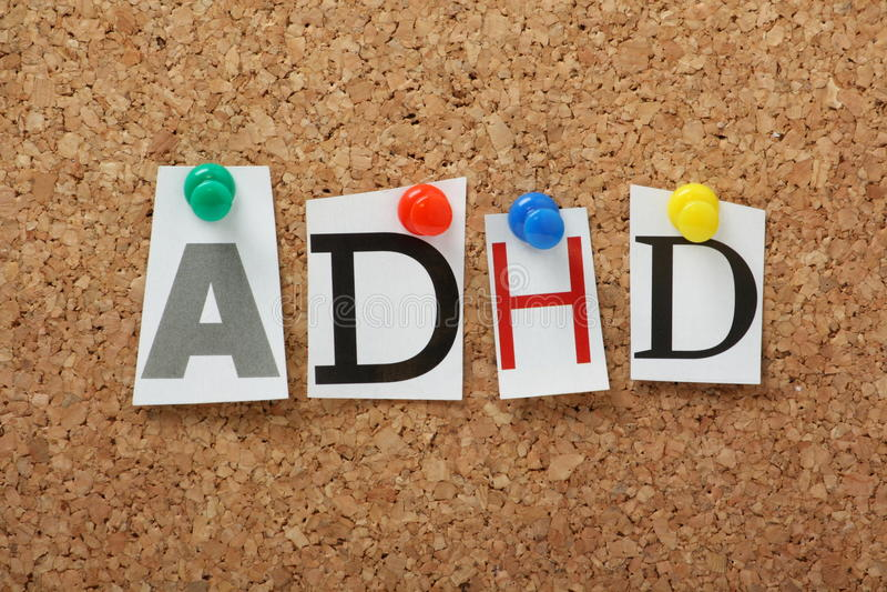 ADHD image stock