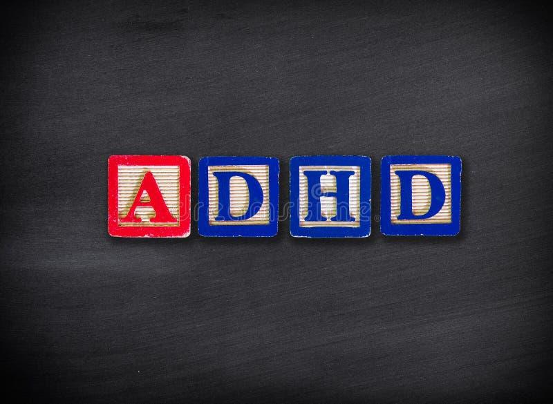 ADHD zdjęcia stock