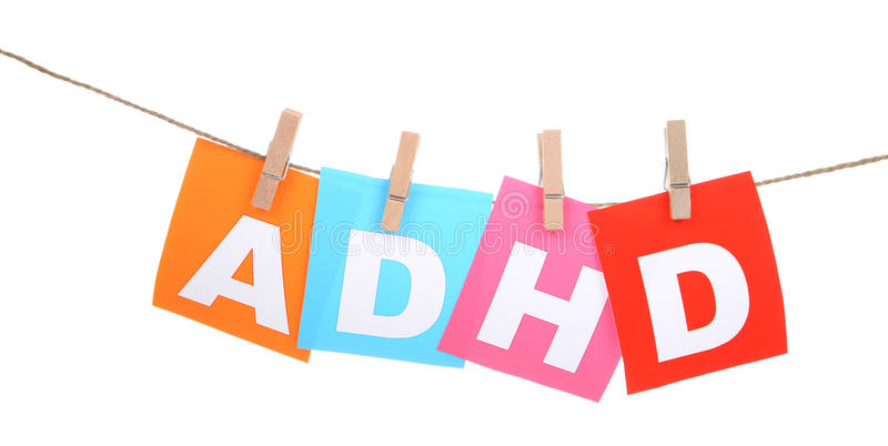 ADHD royalty free stock photography