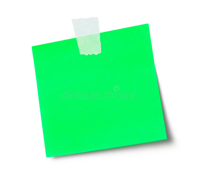 adhesive anmärkning arkivbild