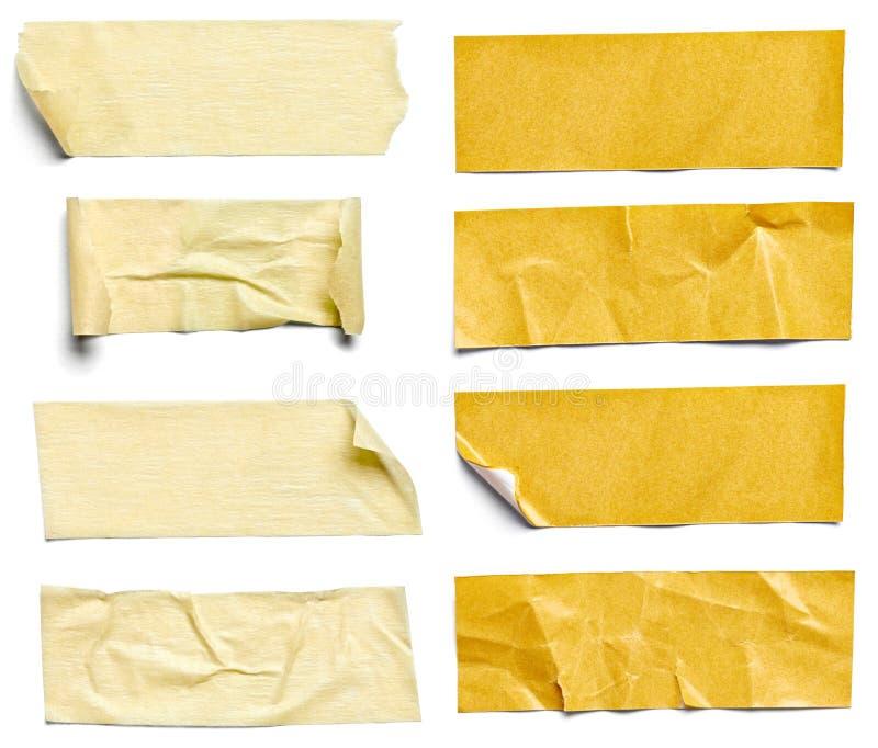 Adhesive band arkivbilder