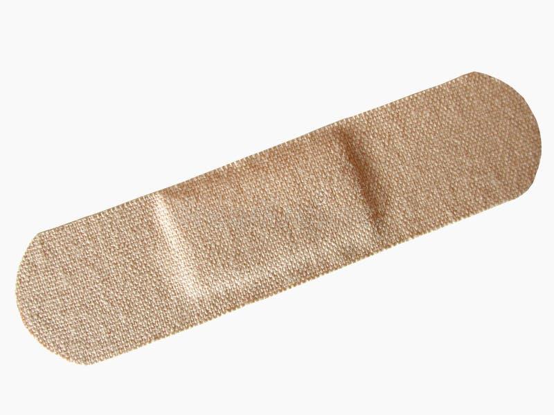 Adhesive bandage. On white background royalty free stock photos