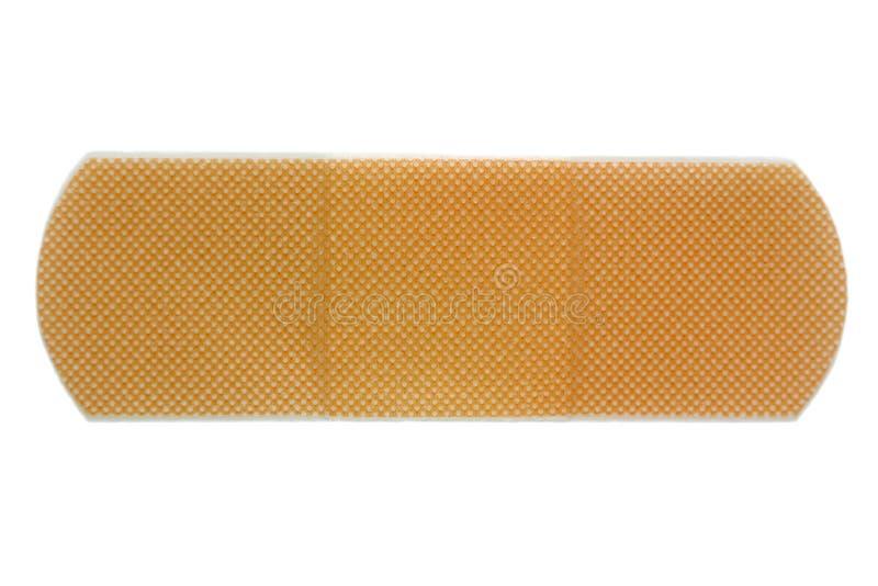 Adhesive bandage. Isolated adhesive bandage royalty free stock photo