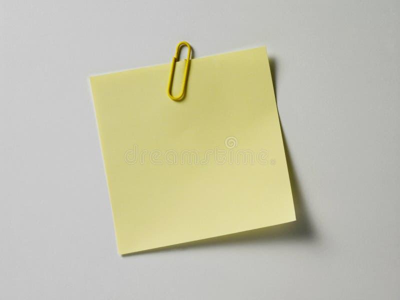 Adhesive note royalty free stock photo