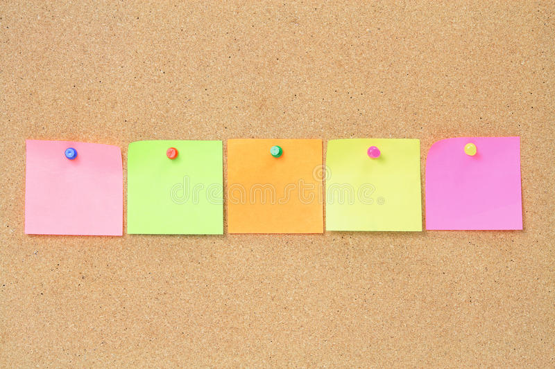 Download Adhesive Note Papers stock photo. Image of blank, post - 22939724