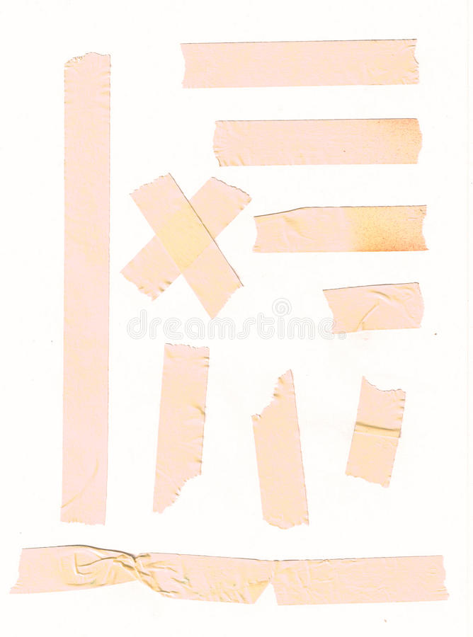 Download Adhesive Tape Set For Paper Note Or Photo Corners Stock Illustration - Image: 13711857