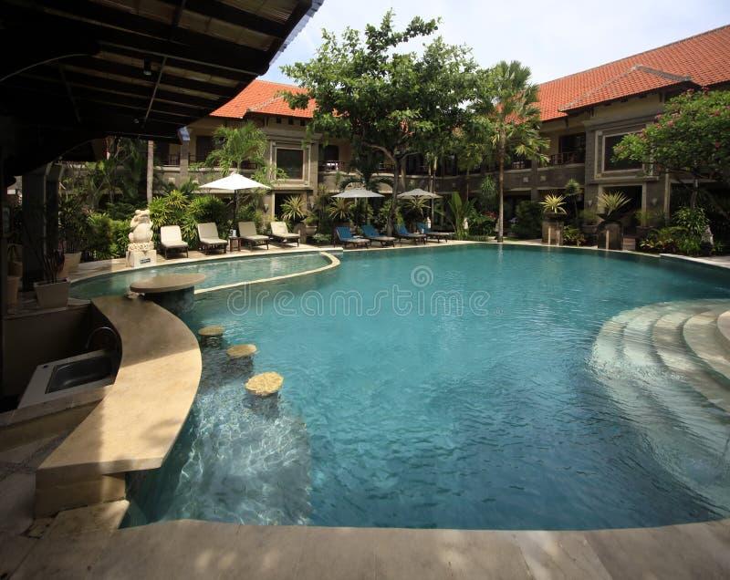 adhi hotelowy jaya basenu dopłynięcie obrazy royalty free