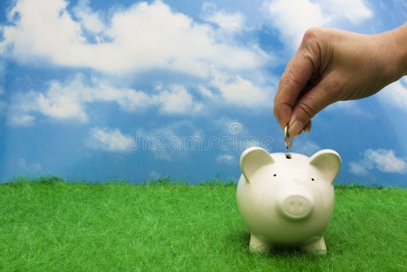 Adição às economias fotos de stock royalty free