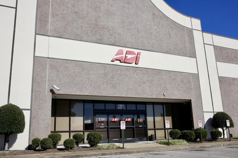 ADI Global Distribution, Memphis, TN image stock