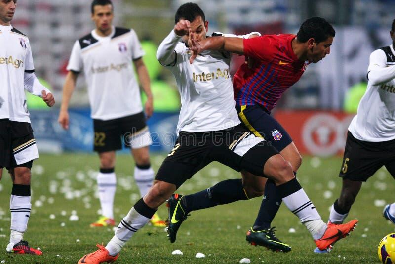FC Steaua Boekarest FC Astra Giurgiu royalty-vrije stock fotografie