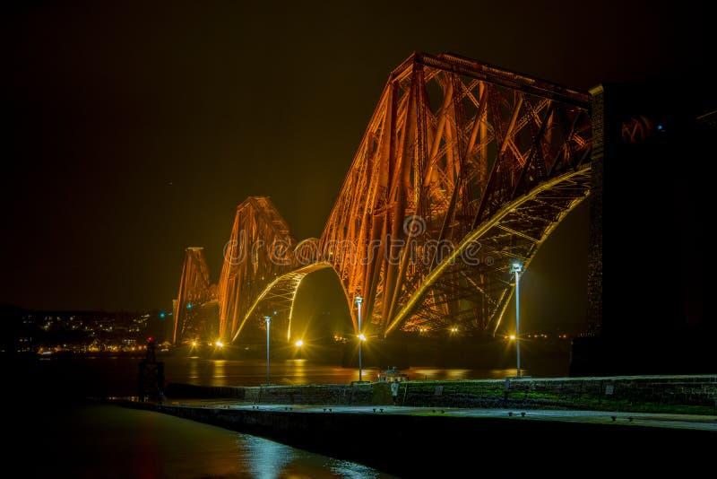 Adiante ponte do trilho fotografia de stock royalty free