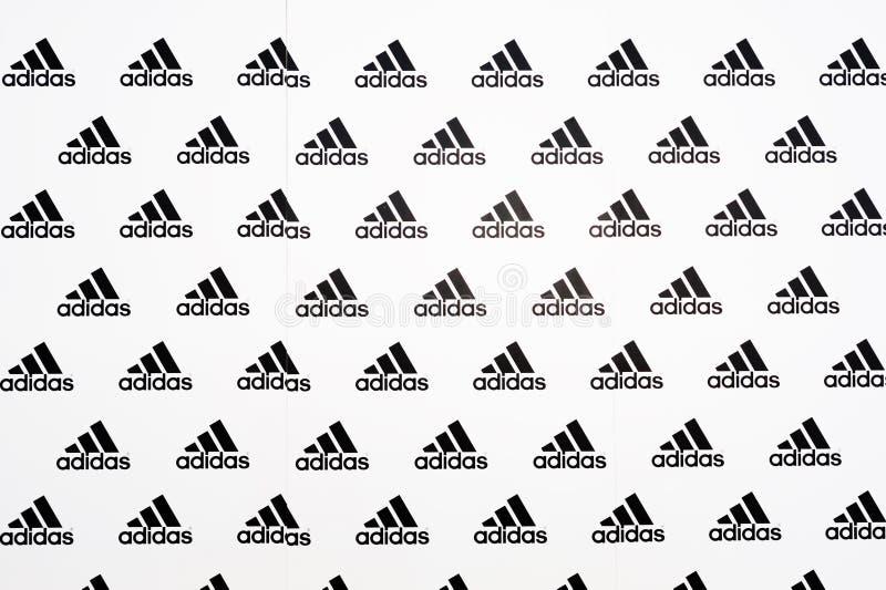 Adidas fotografia stock libera da diritti