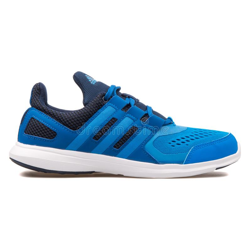 Adidas Hyperfast 2 0 scarpe da tennis blu fotografia stock