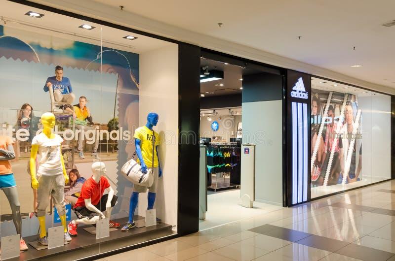 Adidas immagazzina immagine stock libera da diritti