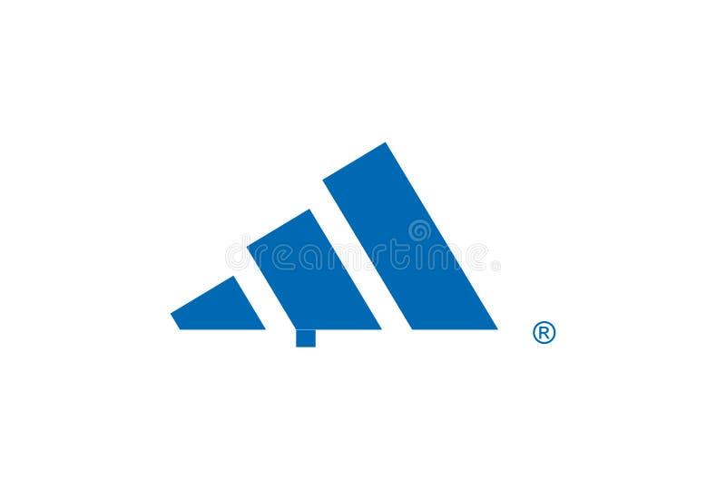 Adidas Logo royalty free stock photo