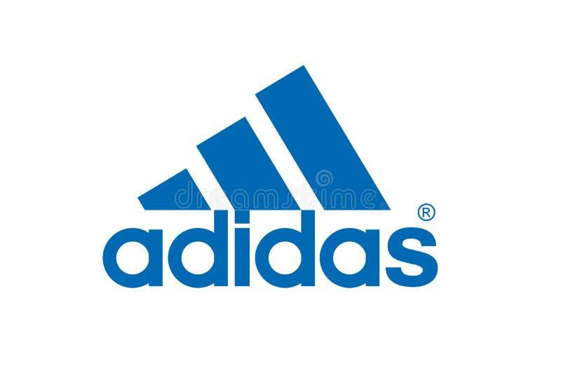 Adidas Logo royalty free stock images