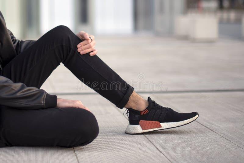 Adidas NMD 2 στοκ φωτογραφία με δικαίωμα ελεύθερης χρήσης