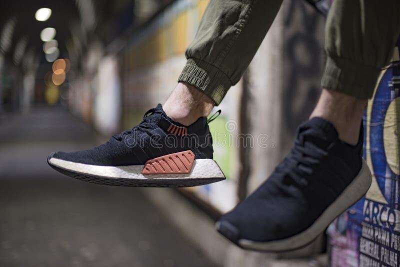 Adidas NMD fotografia stock libera da diritti