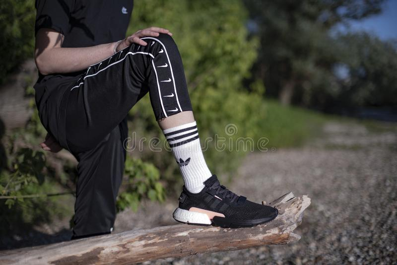 Adidas POD-S3 1 fotografia stock libera da diritti