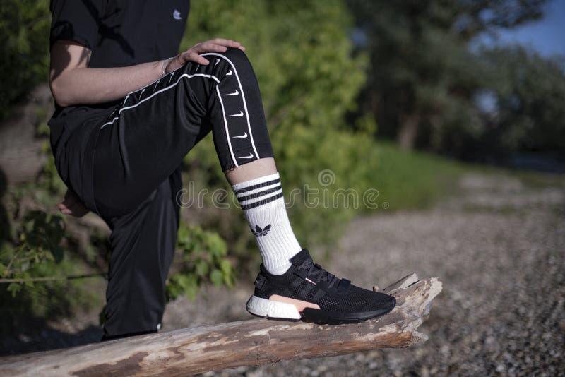 Adidas POD-S3 1 royaltyfri foto