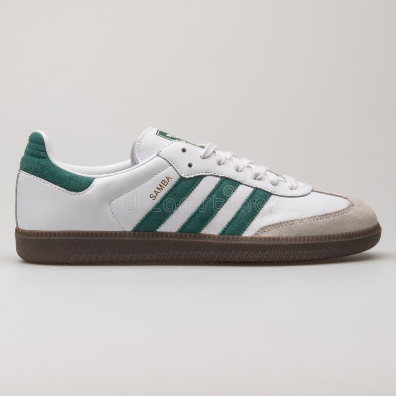 Adidas Samba White And Green Sneaker