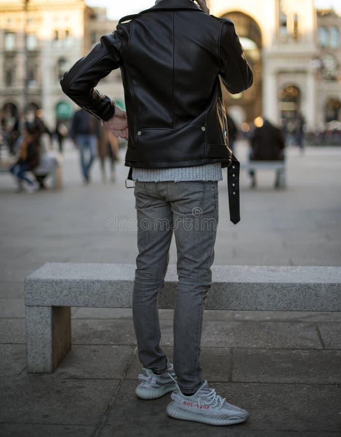 Adidas Yeezy immagine stock
