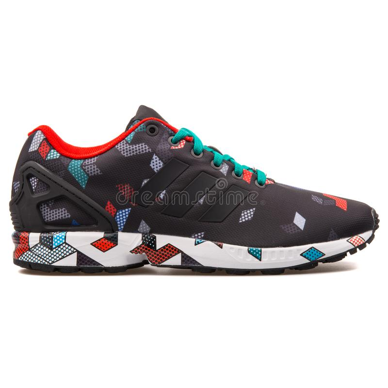 Adidas ZX Flux Black And Multi Color
