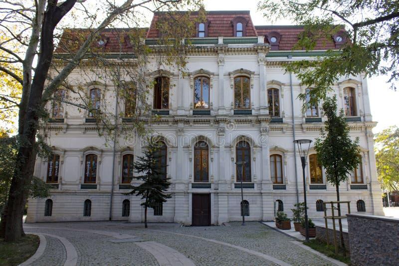 Adile sułtanu pałac Istanbuł, Turcja - obrazy royalty free