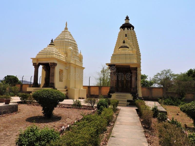 Adinath Jain Temple late 11th century AD, Chandela dynasty gewijd aan Adinath - 1e van Jain tirthankaras of prophets Oost royalty-vrije stock afbeelding