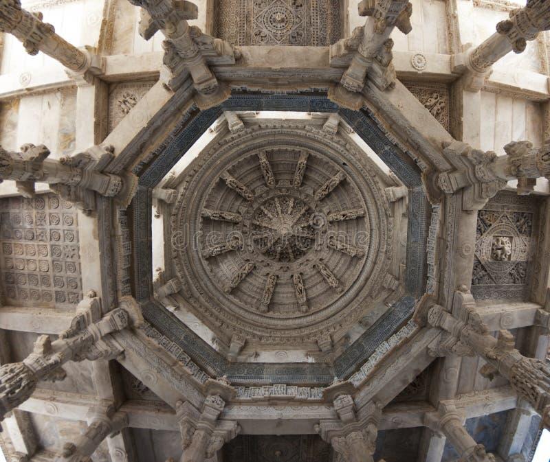 Adinath jain temple ranakpur stock photos