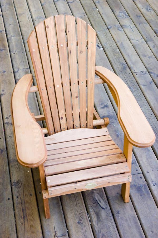 adirondack έδρα στοκ φωτογραφία