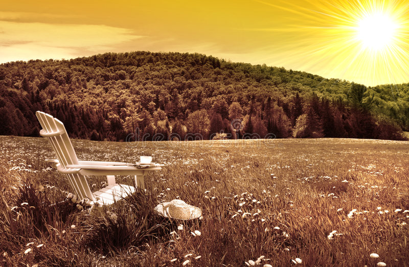 adirondack λευκό ηλιοβασιλέματ&omic στοκ φωτογραφία με δικαίωμα ελεύθερης χρήσης
