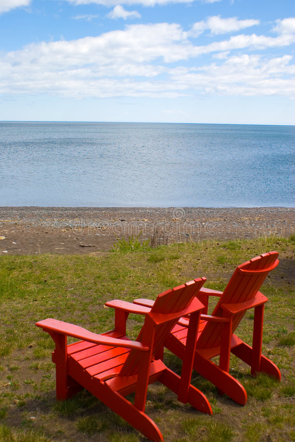 Adirondack Chair royalty free stock images