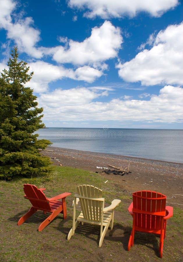 Adirondack Chair stock image