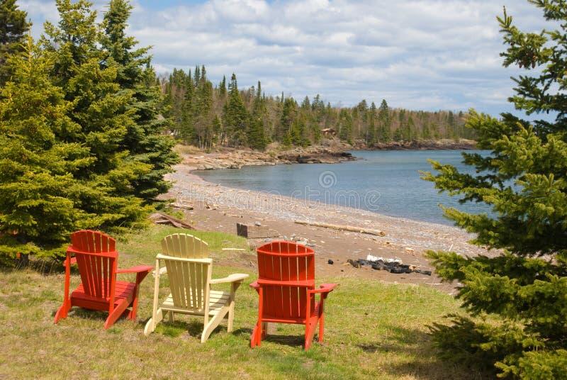 Adirondack Chair royalty free stock image