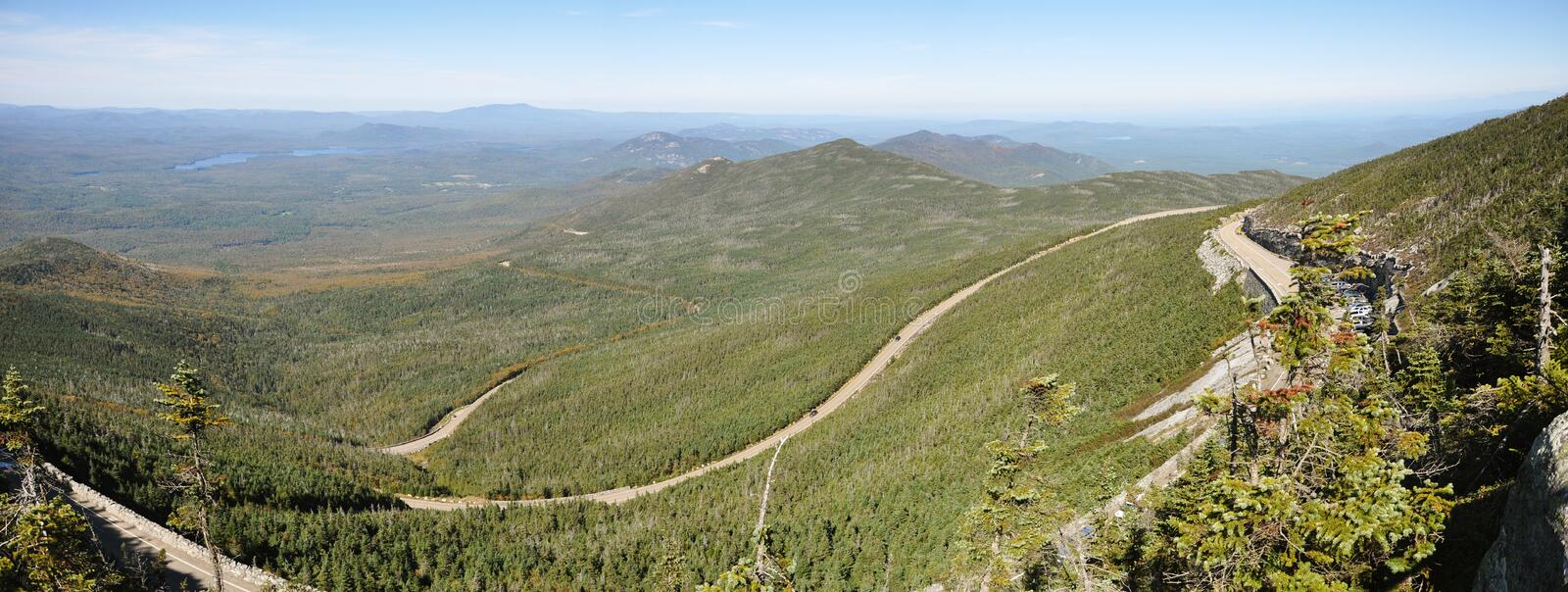 Download Adirondack Mountains Panorama In Summer Royalty Free Stock Photography - Image: 19199447
