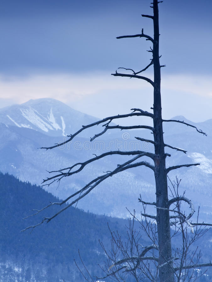 Adirondack Mountains in Winter