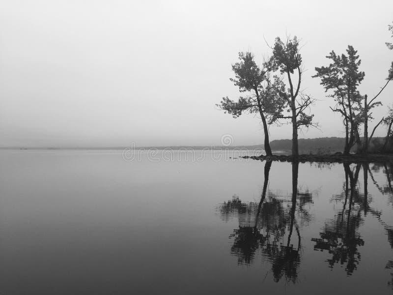 Adirondack sjö royaltyfri fotografi
