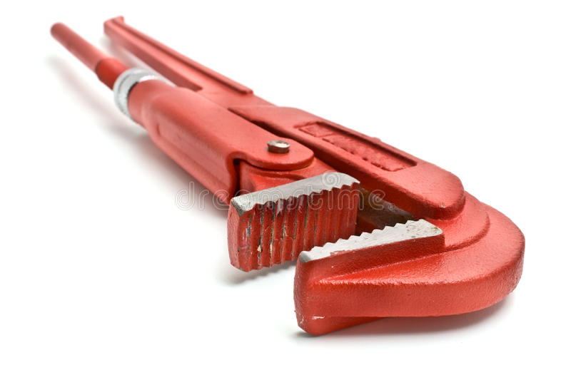 Adjustable spanner royalty free stock image