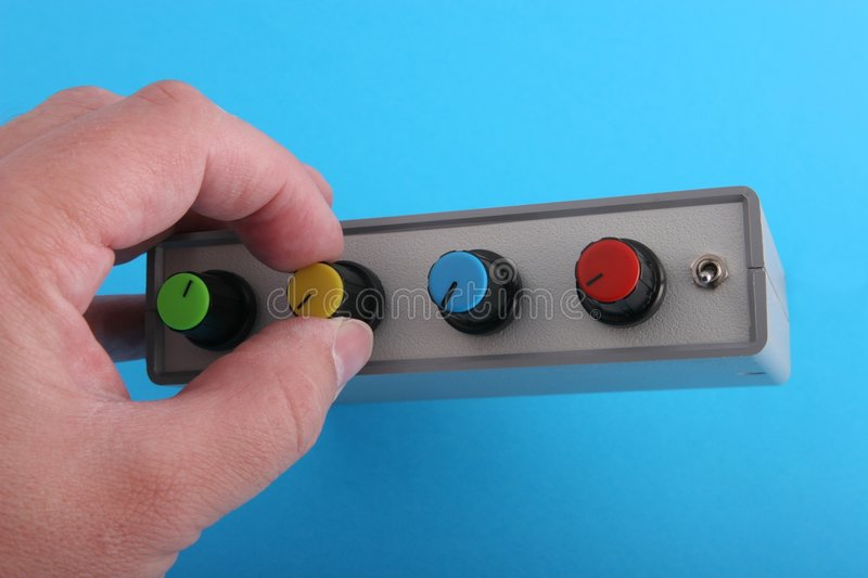 Download Adjusting settings stock image. Image of button, amplifier - 854125