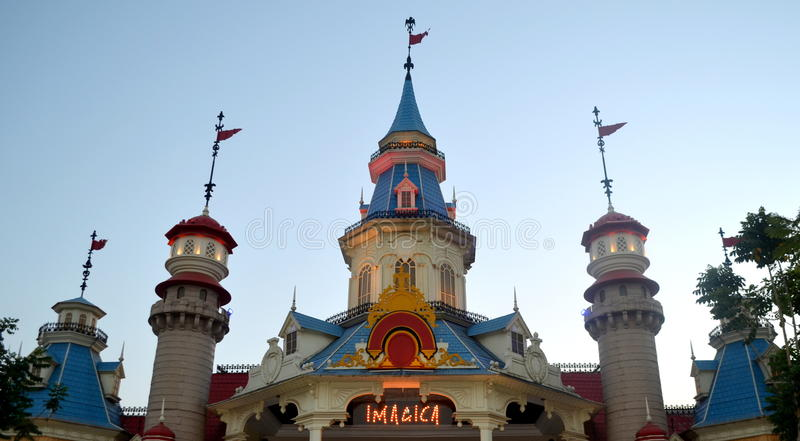 Adlabs Imagica Amusement Park stock images