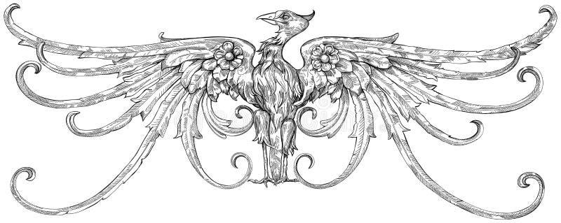 Adler - Emblem Lizenzfreie Stockfotografie