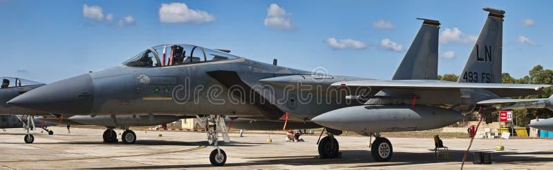 Adler F-15 lizenzfreies stockfoto