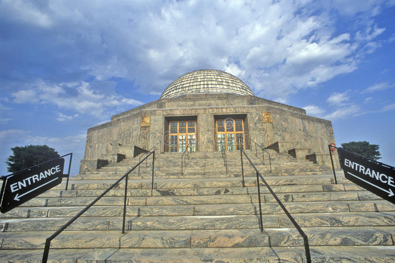 Adler-Planetarium, Chicago, Illinois stockfotos