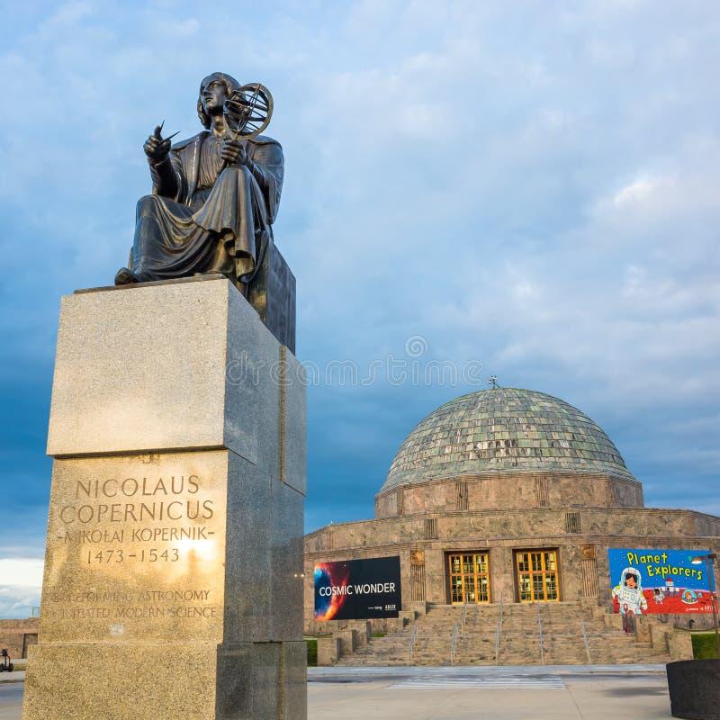 Adler planetarium muzeum, Chicago zdjęcie royalty free