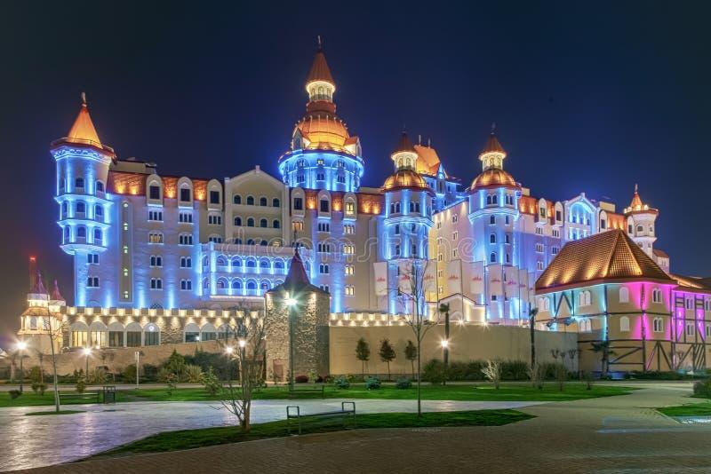 ADLER, SOTCHI, RUSLAND - Maart 23, 2018: Hotel Bogatyr royalty-vrije stock fotografie