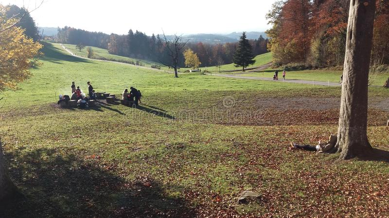 Adliswil Schweiz - Biberli och te royaltyfri bild