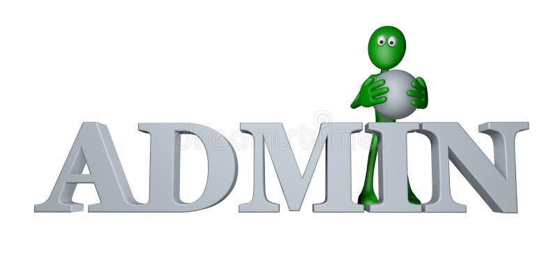 Admin stock illustrationer